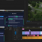 Alex Audio Butler - Early Access - in use in an Adobe Premiere Pro CC example project.