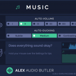Alex Audio Butler - Early Access - Music channel plug-in interface.