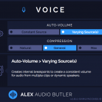 Alex Audio Butler - Early Access - Voice channel plug-in interface.